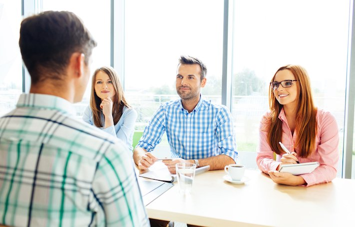 Interviewing and hiring a content team is necessary for creating quality thought leadership content.