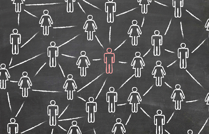 Social networks can help companies find the right customers.