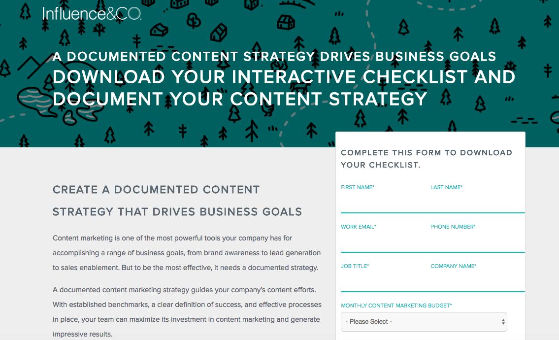 ContentStrategyChecklist