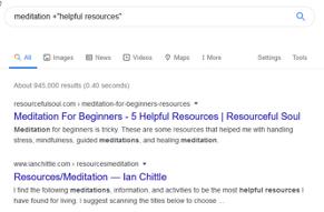 Meditation-Resources