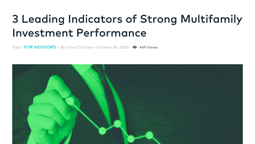 Origin Blog Post: 3 Leading Indicators of Strong Multifamily Investment Performance