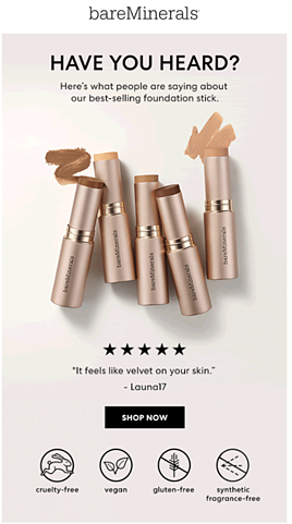 bareMinerals Email