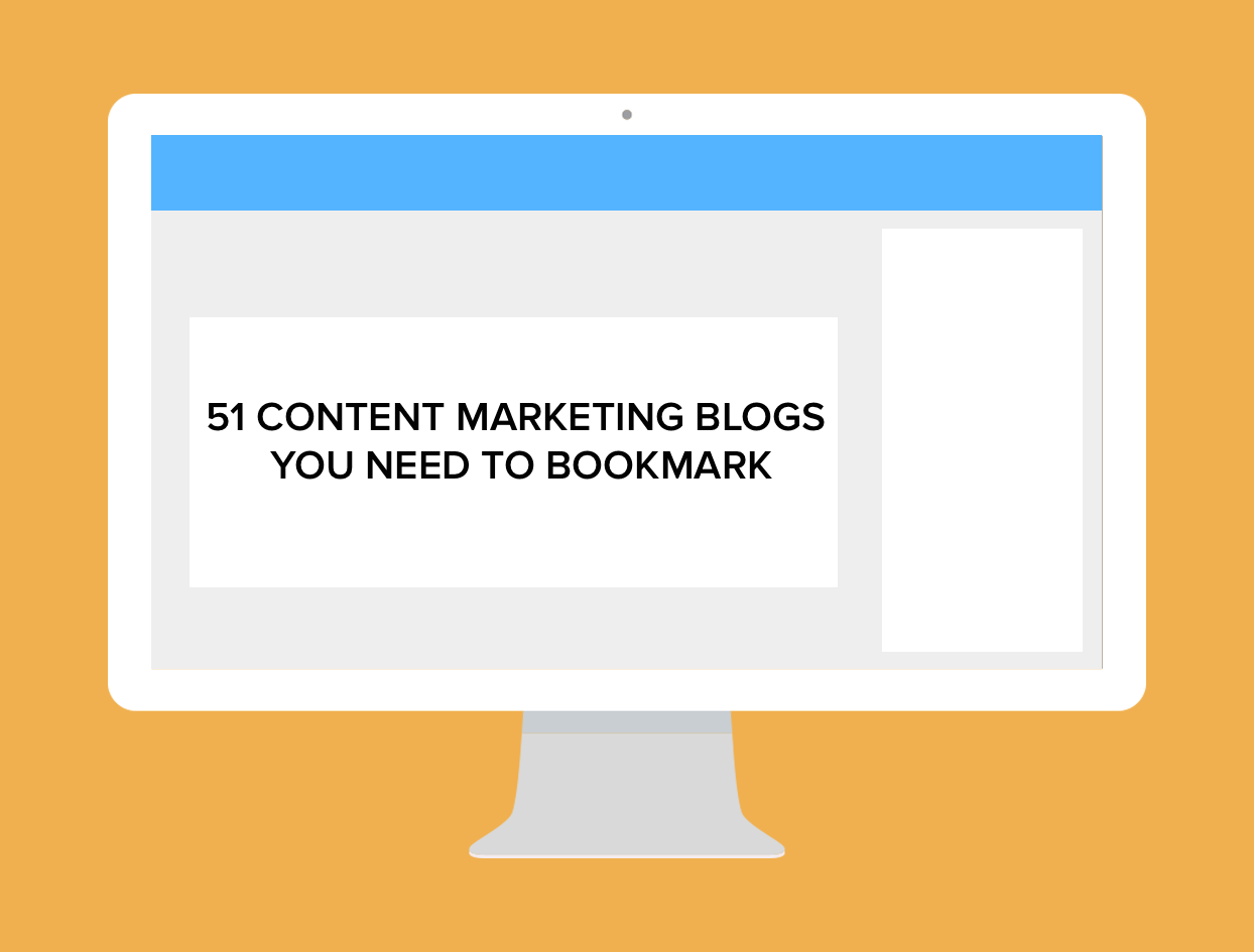 51 Content Marketing Blogs You Need to Bookmark